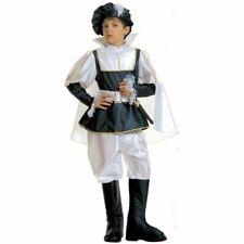 Royal Prince Tudor Renacimiento medieval Niños, Disfraz, 5-13 años