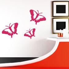 Wandtattoo Schmetterlinge 3 St. Qualität Butterfly +64+