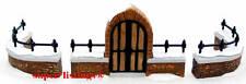 Dept. 56 Churchyard Gate & Fence Set of 3 Retired 1997 Heritage 58068