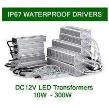 IP67 DC 12V Waterproof LED Transformer  Power Supply to LED Strip Light 10W-60W