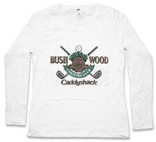 Bushwood Country Club I da Donna Manica lunga T-shirt Caddyshack sign logo Golf Company