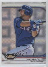 2012 Topps Finest X-Fractor #98 Mike Napoli Texas Rangers Baseball Card