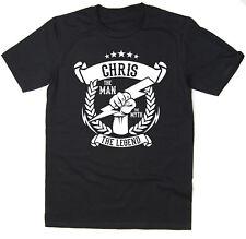 Chris-el hombre, el mito, la leyenda Camiseta-Idea Regalo De Navidad - 6 Colores