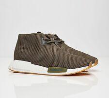 NIB Adidas Consortium x END Clothing NMD C1 Chukka Sneakers Cactus Olive BB5993