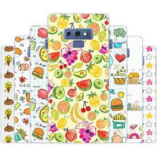 dessana Doodle Muster Silikon Schutz Hülle Case Handy Tasche für Samsung Galaxy