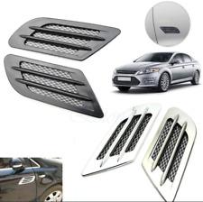101813 negro/plata decorativas ventilación aire-Grill Sport. look para nissan