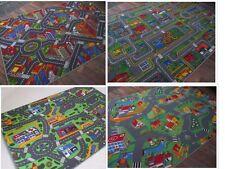 Spiel Kinder Teppich Straßenteppich Sommer Edition 4 Designs diverse Größen