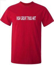Religioso Cristiano T-shirt quanto bene TU SEI