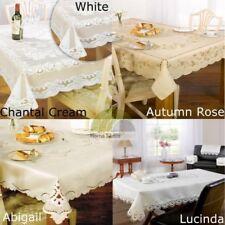 Détail de dentelle Nappe table cuisine salle à manger HOUSSE PROTECTION