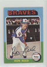 1975 Topps Minis #81 Ron Reed Atlanta Braves Baseball Card