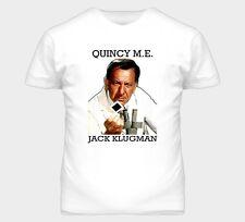 Quincy Me 70s 80s Tv Jack Klugman Graphic T Shirt
