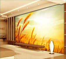 La cosecha de trigo un pedazo de oro 3D  Lleno Pared Mural Foto  Papel Pintado I