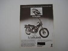 advertising Pubblicità 1976 MOTO HARLEY DAVIDSON SS 250
