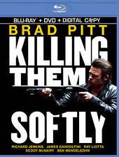 Killing Them Softly (Blu-ray/DVD, 2013) BRAD PITT