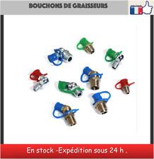 20 bouchons de graisseurs M6 ou M8 ou M10 Grease Fitting Caps bouchon graisseur