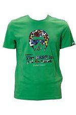 T.shirt da uomo verde Joe Rivetto manica corta girocollo casual cotone moda