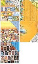 "ScrapBerry's Mediterranean Dreams 1x Cardstock 12""X12"" Scrappapier 30,5x30,5cm"