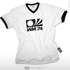 Weltmeister WM 1974 Fan Trikot Deutschland Retro T-Shirt Fußball EM 2016