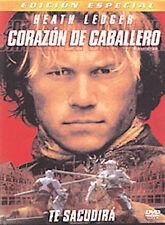 Corazon de Caballero (A Knight's Tale) DVD, James Purefoy, Scott Handy, Bérénice