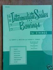 violin INTERMEDIATE SCALES & BOWING rubank