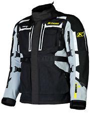 Klim Mens Black/Gray Adventure Rally Motorcycle Jacket Sport Touring Adventure