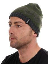 Brunotti gorro Beanie Gorro De Punto Sombrero Verde Patrón Blair cálido