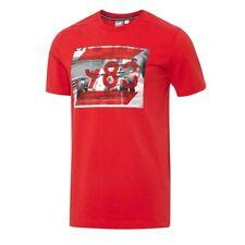 Puma SF Ferrari Graphic Rosso Corsa Cotton Short Sleeve T-Shirt 570679 02 RW32