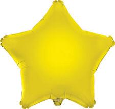 45.7cm qualité feuille étoile ballon, 6 couleurs hélium Metalique fête (emballé)