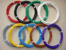 ( 0,25 €/m ) 10 m Kabel Litze Schaltlitze Kupferlitze 0,5 mm² freie Farbwahl