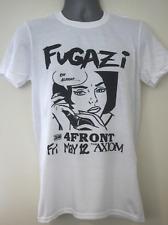 fugazi t-shirt gig flyer slint mcklusky bad brains dag nasty bikini kill