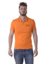 Polo Emporio Armani EA7 Polo Shirt % Uomo Arancione 3YPF51PJ03Z-1681
