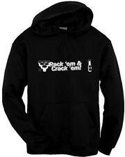 Rack 'Em & Crack 'Em Beer Pong Hoodie Funny College Frat Party Sweatshirt S-3XL