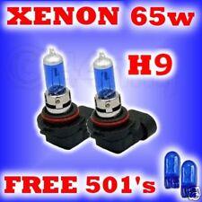 65w XENON HEADLIGHT BULBS H9 free 501's
