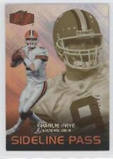 2006 Flair Showcase Legacy #244 Charlie Frye Cleveland Browns Football Card
