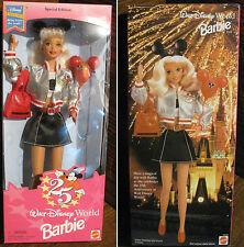 A MATTEL Special Edition Walt Disney World Barbie  25th Anniversary 1996 NRFB