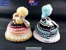Granmen Fashion Ladies Soft Winter Beanie Pompom Ski Cap Hat 2 Colours (B32) NEW