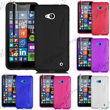 Accessoire Etui Coque TPU Silicone Gel Microsoft Nokia Lumia 640 LTE/ Dual Sim