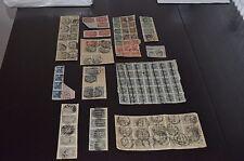 Deutsches Reich 1919 - 1923, verschiedene Briefstücke aus MiNrn: 208 - 329 o