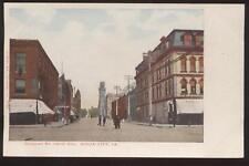 Postcard Sioux City Iowa Douglas St. Storefronts 1906?