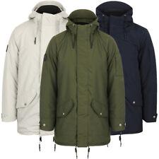 Tokyo Laundry Men's Eskell Hooded Parka Coat Size S M L XL XXL