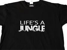 URBAN T Shirt GIUNGLA DI CEMENTO fatti a mano STREET Hipster Musica Cool Abiti regali