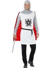 Adult Templar Knight Crusader Medieval Renaissance Costume