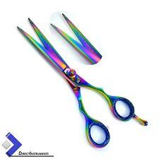 Multi Color Rainbow Professional Barber Hair Cutting Scissors Hair Dressing New