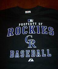 COLORADO ROCKIES  MLB BASEBALL T-Shirt LARGE NEW