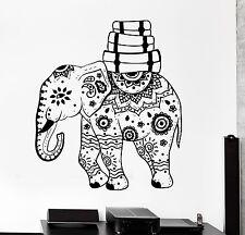 Wall Vinyl Elephant African Animal Ornament Mural Vinyl Decal (z3341)