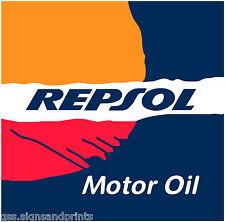 Repsol-Motor Oil-Calcomanía Adhesivo Impreso (Elección de Tamaños)