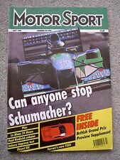 Motor Sport (July 1994) Subaru Impreza Turbo 2000 4WD, Ferrari F355, Thrust SSC