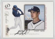 2001 Fleer Legacy #97 Jeremy Owens San Diego Padres Rookie Baseball Card