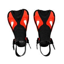 Maillots de bain Short Training Open Heel Palmes Snorkel ajustables pour