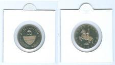 Austria 5 chelines PP respectivamente handgehoben (seleccione bajo 1970 - 2001)